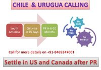 PR opportunity in Chile, get visa in Uruguay, vipul mali, post a resume, work permit in Uruguay, get settled in Chile, vipul m mali
