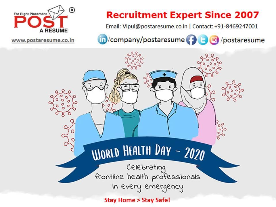 World Health Day - Post a resume - vipul mali